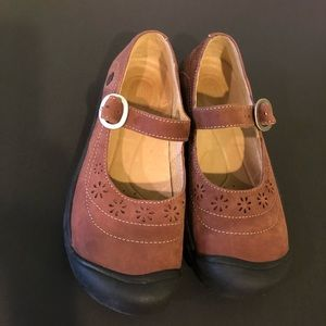 Keen Calistoga Brown Suede Mary Jane Shoe Sz. 7